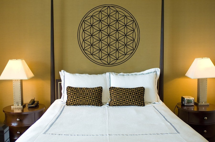 Flower of life wall decor