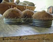 Instant Download Farmer's Wife Pincushion Pattern by Walnut Ridge Primitives