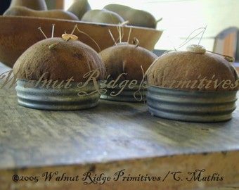 Instant Download Farmer's Wife Pincushion Pattern by Walnut Ridge Primitives
