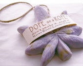 Dope on a Rope Soap -  Maui Wowie - Hemp Soap - Lavender Orange Essential Oils - 420 Cannabis Weed Gifts - Bohemian - Novelty - Valentines