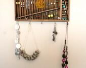 jewelry display: vintage quartersize letterpress drawer