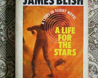 James Blish A Life For The Stars Science Fiction Vintage Paperback Avon 1960's  Sci Fi