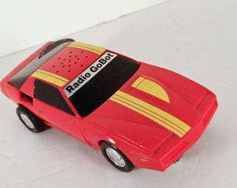 Firebird Tonka Gobot RADIO Muscle Car Transformer Transistor 1985 Robot Red Many Positions Transistor