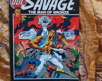 Marvel Comics Doc Savage no 2 1972 Steranko Ross Andru Ernie Chua John Costanza Comic Book