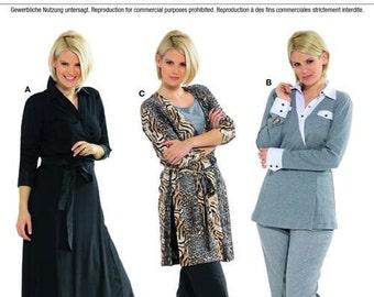 Burda Pattern 7563 Misses'/Women's Wrap Dress, Tunic & Shirt Sizes 18-32 NEW