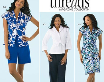 Simplicity Pattern 2370 Misses' Jacket, Blouse, Skirt, Pant and Shorts Sizes 16-24 NEW