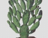 Digital Cross Stitch Pattern - Cactus