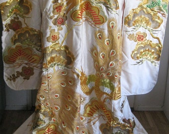 Japanese Wedding Kimono or Uchikake