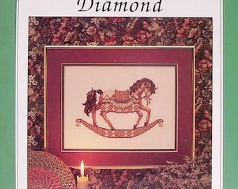 Teresa Wentzler DREAMSCAPE CAROUSEL HORSE Diamond - Counted Cross Stitch Pattern Chart - Just Cross Stitch
