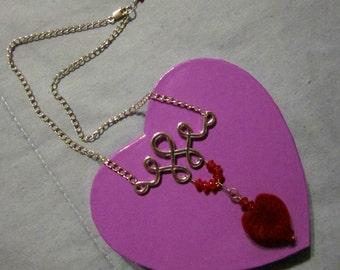 Heart-Shaped Gift/Trinket/Stash Box - Purple