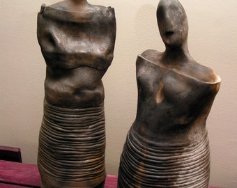 Goddess and God/Guardian Sculptures