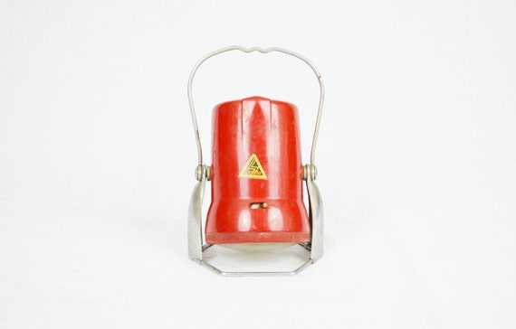 CLEARANCE SALE - 50% OFF - Vintage Red Lantern Flashlight