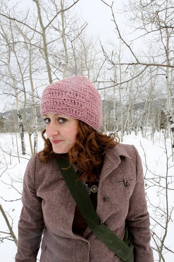 Rose Heather Beanie