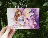 "4x6 Postcard Fantasy Art Illustration ""Southern Breeze"""
