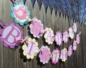 MADE TO ORDER Little Birdie Happy Birthday Banner - Customize Your Way