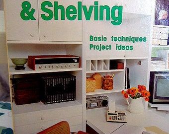 Wall Systems & Shelving, A Sunset Book, Vintage How To on Etsy, Home Projects, Gift For Him, Gift For Her, Do It Yourself Book, Christmas