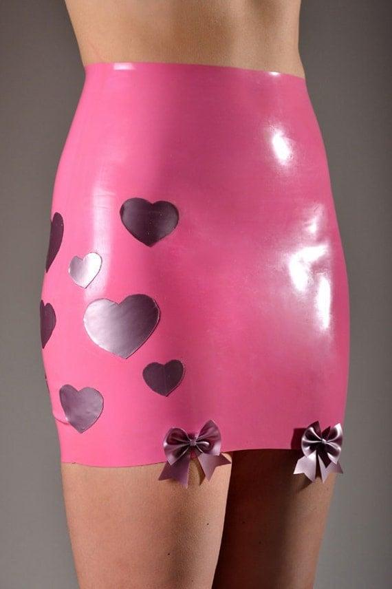 Latex Miniskirt 94