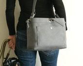 Medium Studio Camera Bag - water-repellent durable canvas & 6 exterior colors - Grey