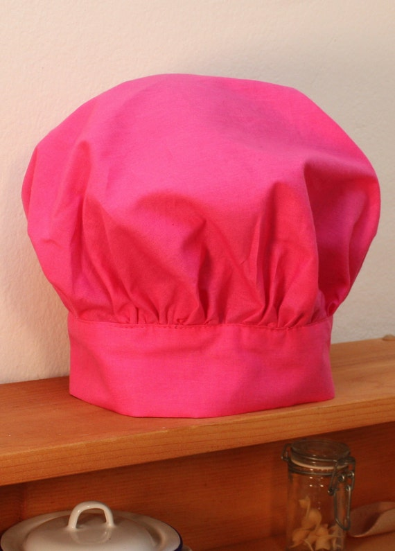 Child's Chef Hat in Pink