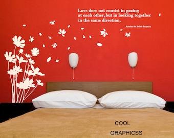 Dandelions blowing in the breeze -Vinyl Wall Decal Sticker Art