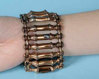 1950s Abstract Copper Bracelet