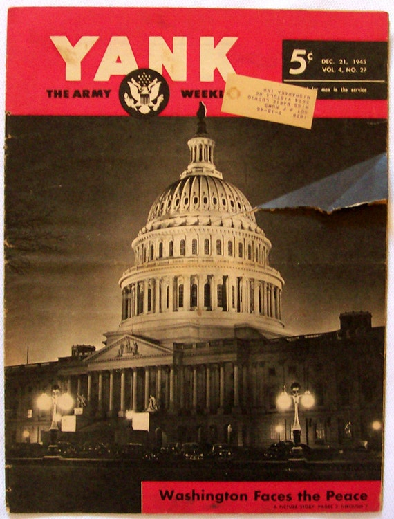Yank Magazine The Army Weekly December 21, 1945