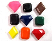 Faceted Jewel Crayons - Gems - Set of 18 - CrayonMavens