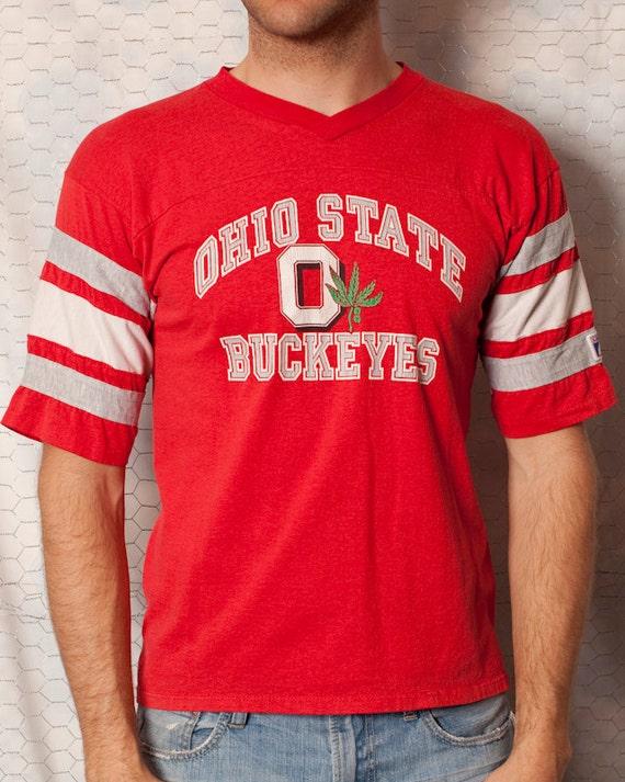 Old School Ohio State Buckeyes Tshirt - M