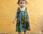 Toddler girl dress, kids dresses, baby clothes, floral age 12 -18 months size 18M