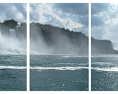 Niagara Falls - Set of 5 photo 8 x 12 - water blue landscape waterfalls sky clouds nature azure spume charm love