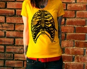 Rib Cage Bird Cage Women's T-Shirt