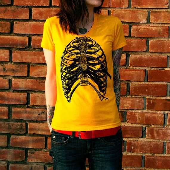 Rib Cage Bird Cage Women's T-Shirt
