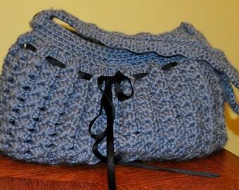 Crochet Pattern PDF - Bag / Purse - Big Shelly Bag