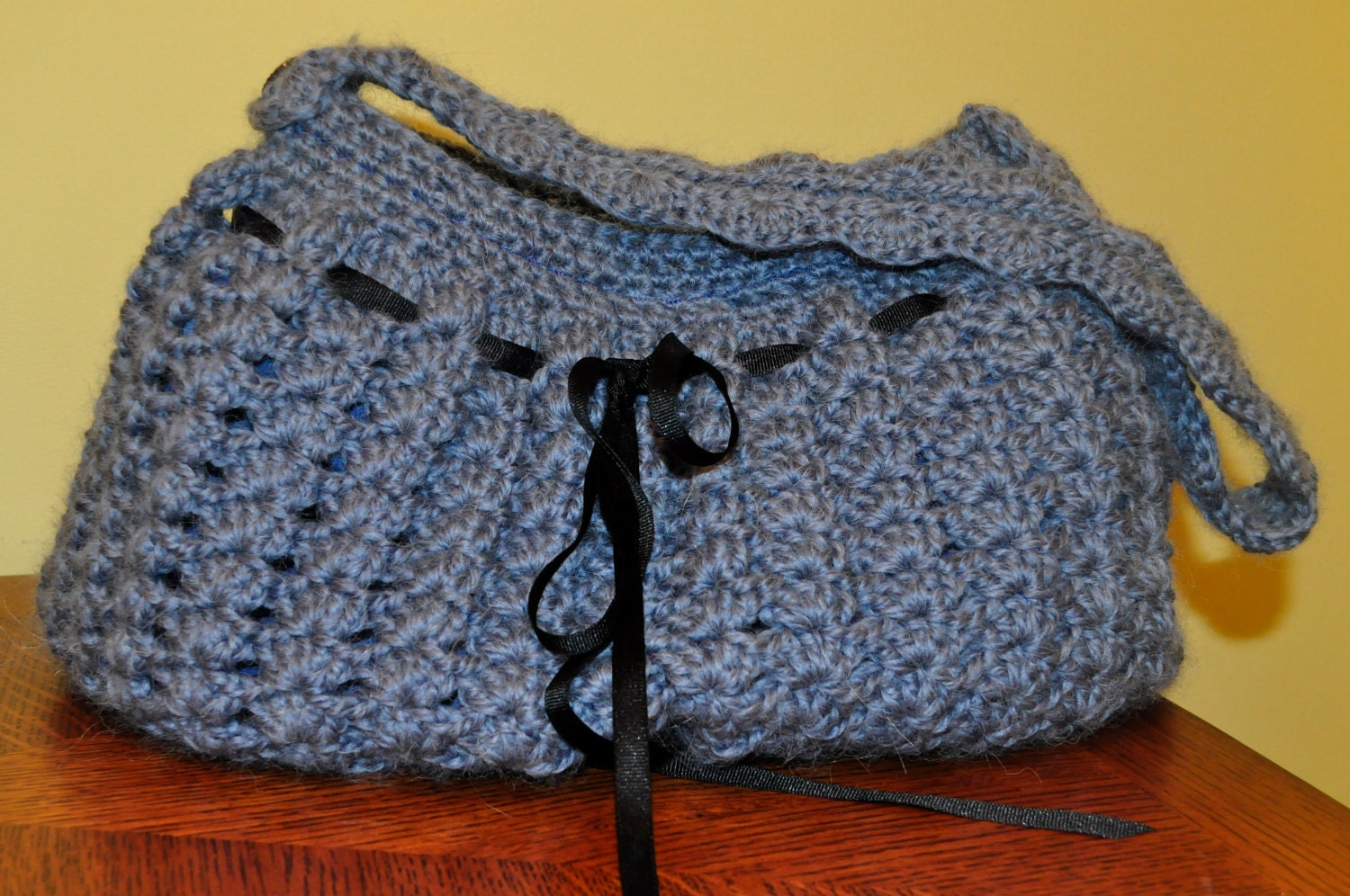 Crochet Pattern PDF Purse / Bag / Hobo Big by 5PacksCrochet