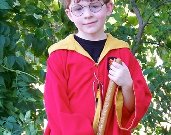 Wizard Inspired Gaming Robe Costume - Child Size - Made to Order - Year 1-2 style