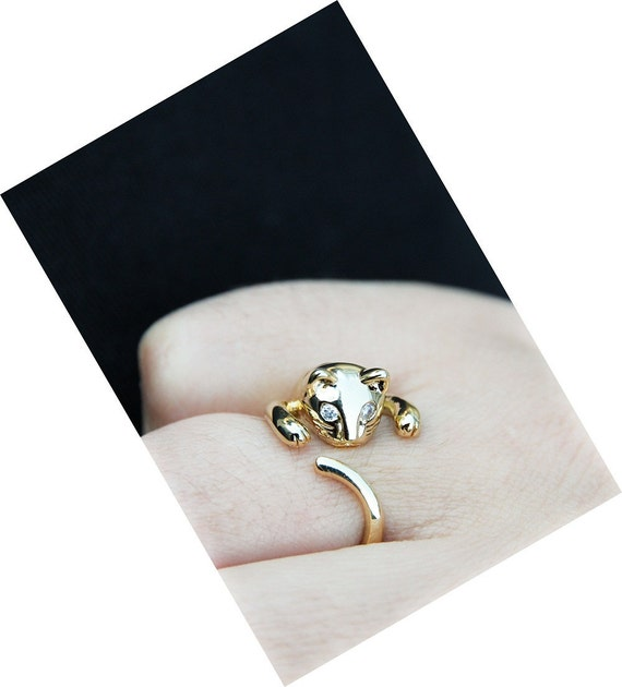 Adjustable Cat Ring -2-  FREE SHIPPING