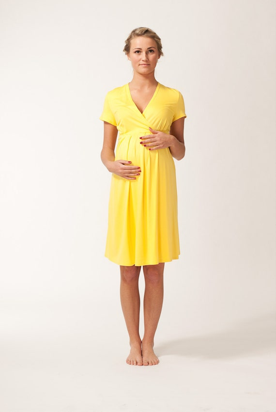 items similar to short sleeve yellow sunflower maternity