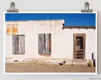 Dallas Street Chicken Marfa Texas Fine Art Photography
