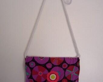 Quilted Shoulder Bag - Purse Shoulder Bag - Small Shoulder Bag - Ladies Shoulder - Patchwork Hip Bag