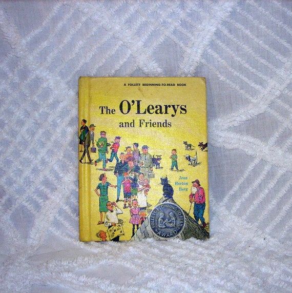 Vintage Book The O'Learys and Friends 1961 Rare