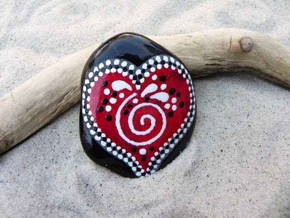 The Power of Love / Painted Rock /Sandi Pike Foundas / Cape Cod