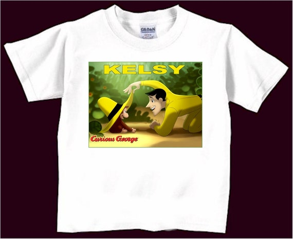 personalized curious george t shirt tshirts makes a by