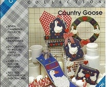 Country Goose Plastic Canvas Collection Plaids No. 8158