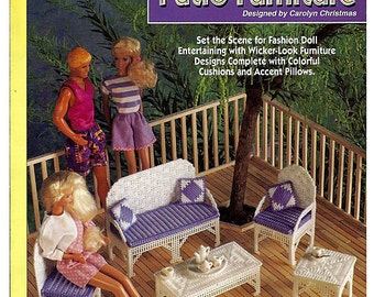 Fashion Doll Patio Furniture The Needlecraft Shop 923718