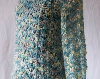 Hand knitted mohair sweater and ready to ship