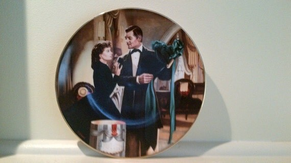 "Gone With the Wind. Original Limited Edition Plate ""The Paris Hat"""