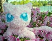 Pokemon Mew Plush Doll: Homemade, Unique, Minky Rose Faux-Fur