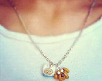 Finn & Jake  Adventure Time Necklace