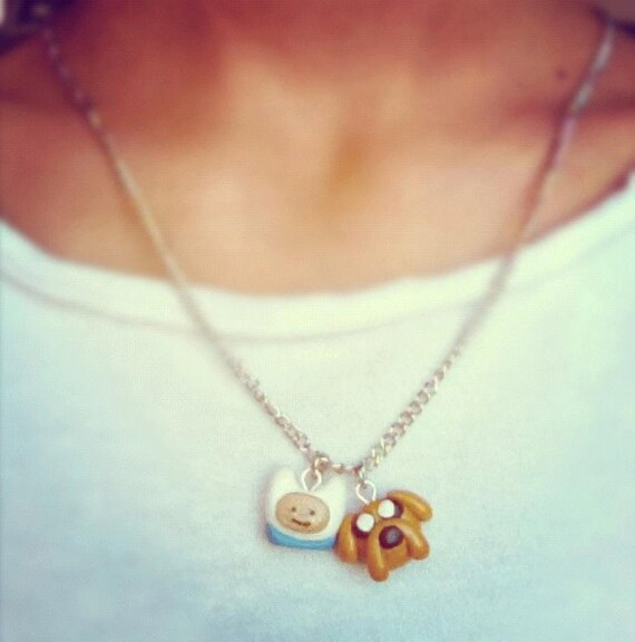 Finn & Jake  Adventure Time Necklace