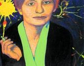 Lise Meitner Art Print